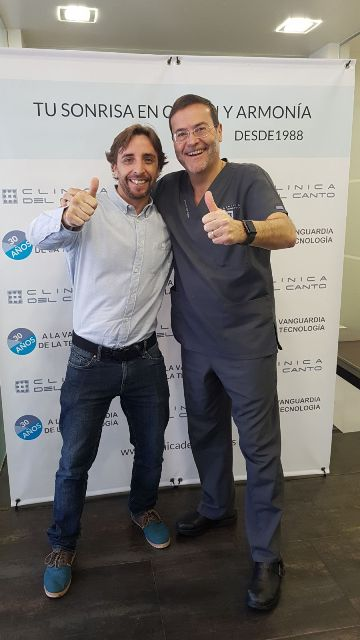 30 Aniversario Clinica del Canto con Gonzalo B., responsable de Marketing Digital de la Clinica