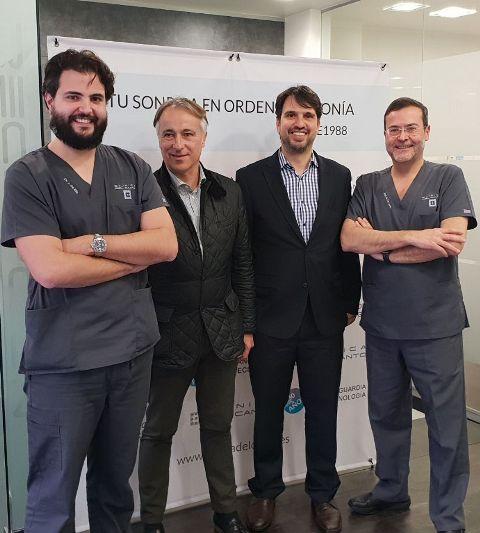 30 Aniversario Clinica del Canto con Marcio Garcia Dos Santos y Jorge de Bego Implant system