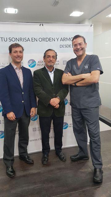 30 aniversario Clinica del Canto con Adolfo y Jorge Rodriguez Alarcon de Despacho R. Alarcon-Fontanilla Sl