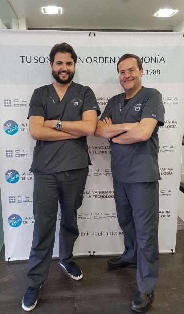 30 aniversario Clinica del Canto con Joaquin de Elio Oliveros