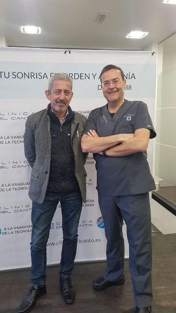 30 aniversario Clinica del Canto con Jose Manuel Esteban Calvo, comercial de BIONER