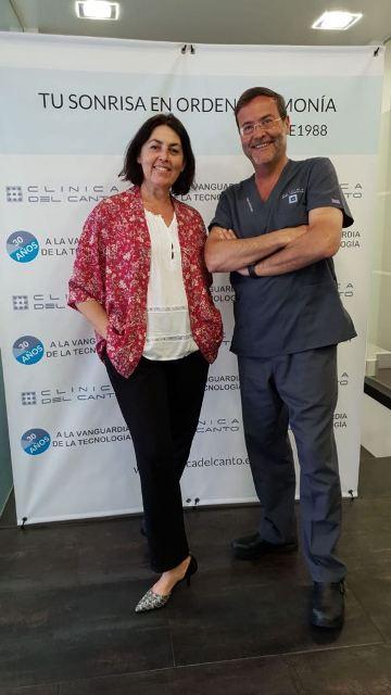 30 aniversario Clinica del Canto - con Rosa Rivet, concejala de Cultura del Ayuntamiento de Torrelodones