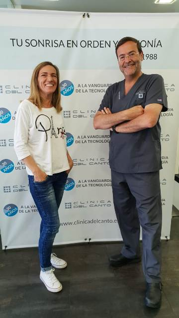 30 aniversario clinica del Canto con Ana Hazen