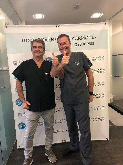 30 aniversario clinica del Canto con Bernabe del Moral