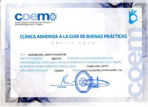 clinica-del-canto-certificacion-buenas-praticas-coem