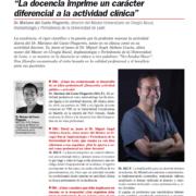 Entrevista a Mariano del Canto en El dentista Moderno - abril 2019