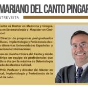 Entrevista al Dr. Mariano del Canto en Newsletter Seger 2020