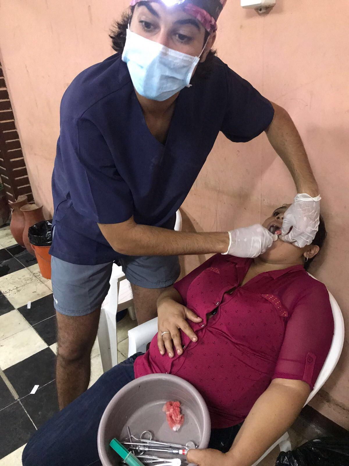 Mariano del Canto con la Asociación Dentistas sin límites