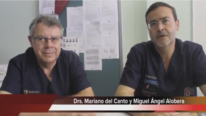 Mariano del Canto y Miguel Angel Alobera - Clinica del Canto
