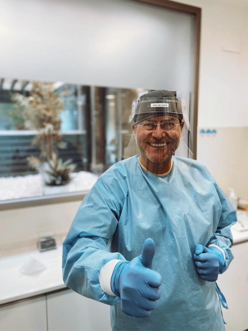 Prof. Mariano del Cato - Madidas de seguridad anti COVID 19