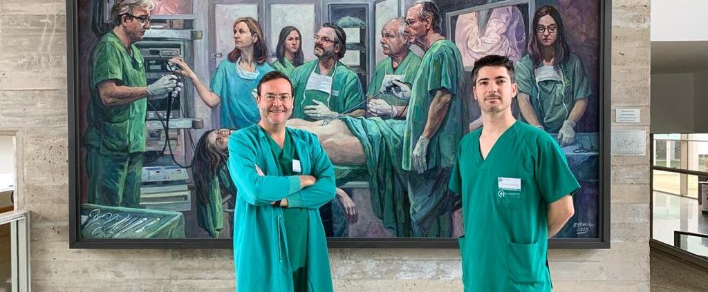 Profesor Mariano del Canto en Centro de Cirugía de Mínima Invasión Jesús Usón