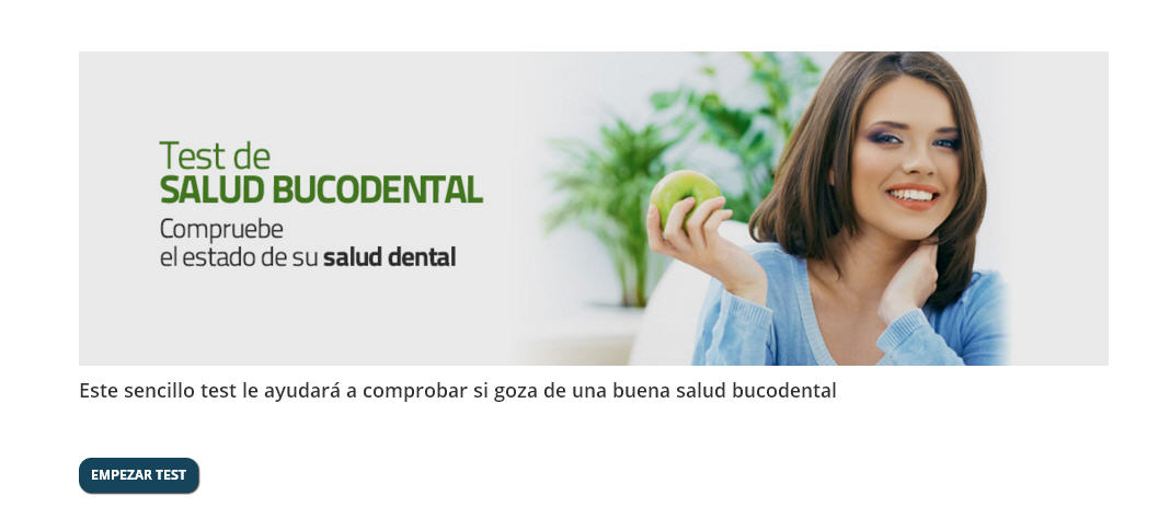 Test Salud Bucodental Clinica dental del Canto