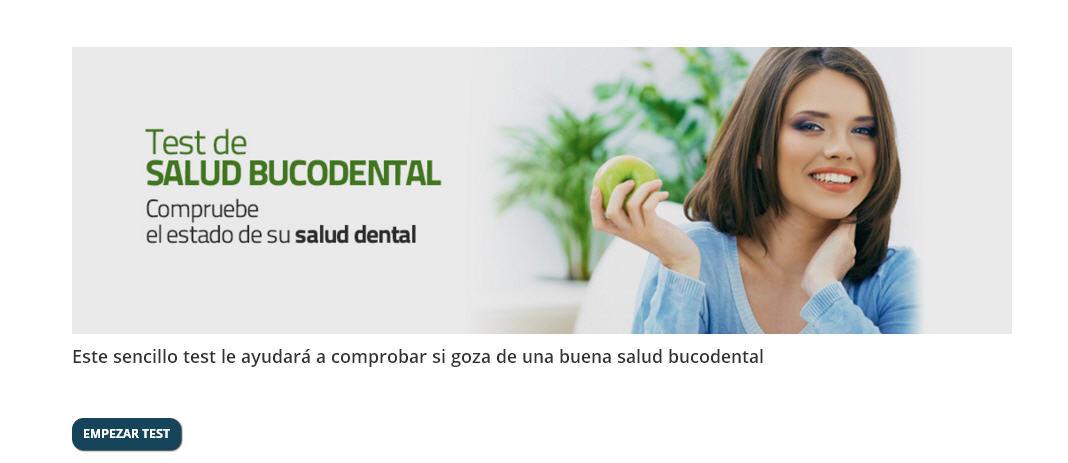 Test Salud Bucodental Clinica dental del Canto