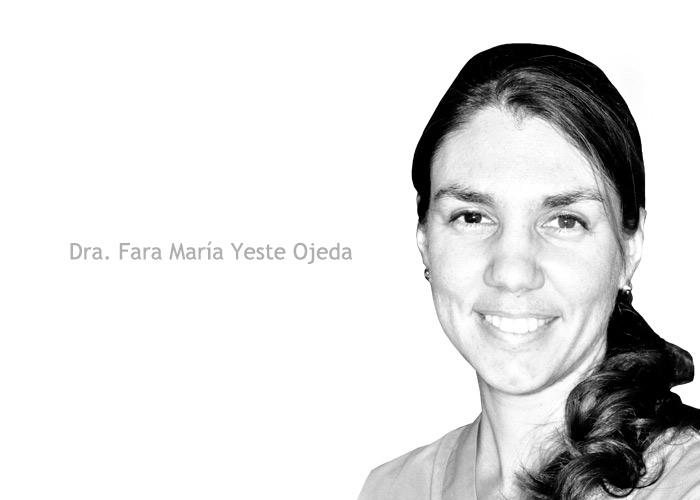 Especialista Ortodoncia invisible Dra Fara Yeste - Clinica del Canto
