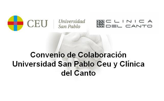 convenio San Pablo Ceu y Clinica del Canto