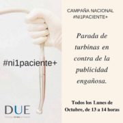 campaña nacional #ni1paciente+ Clinica del Canto