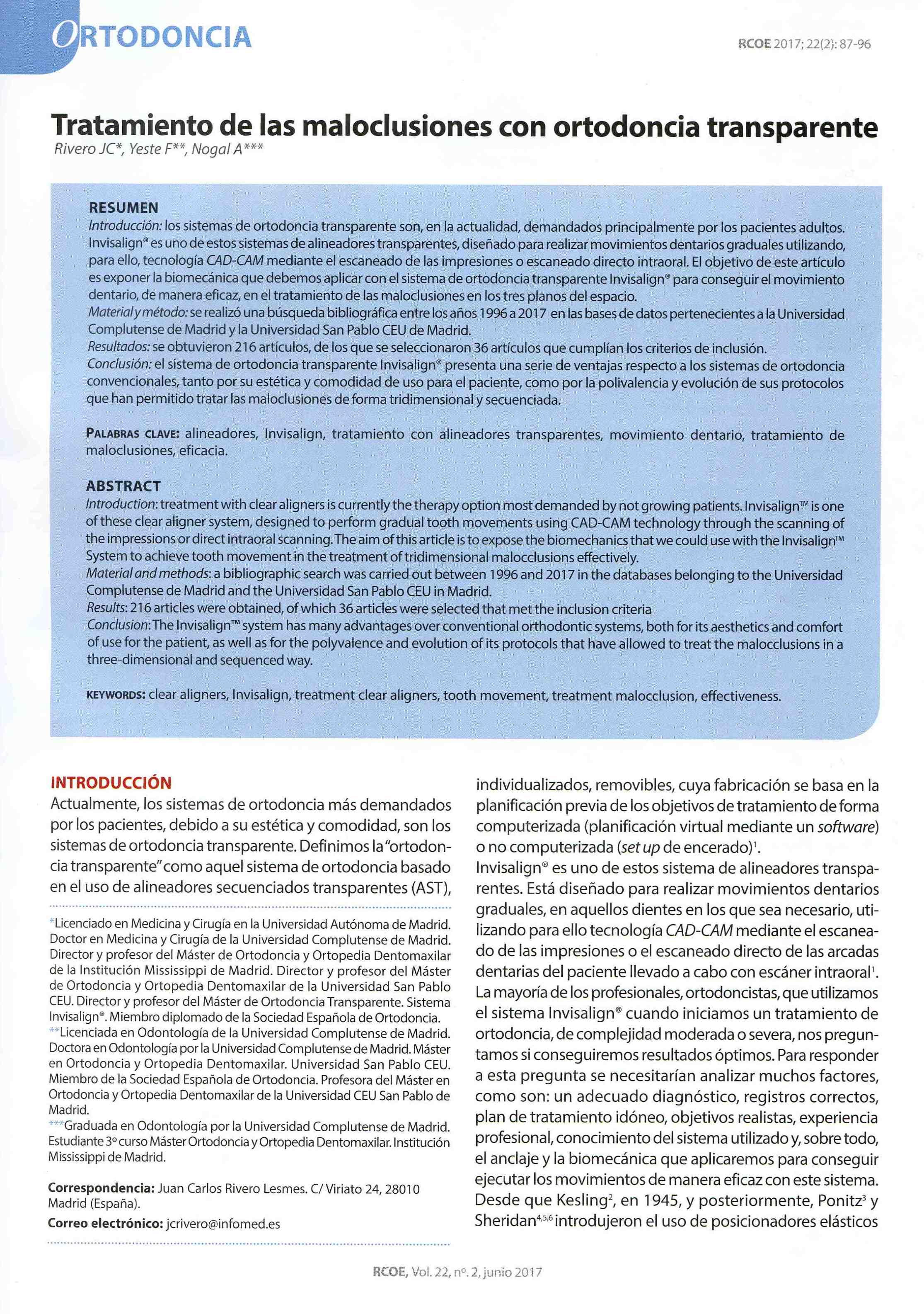 ventajas de la ortodoncia transparente - Clinica del Canto